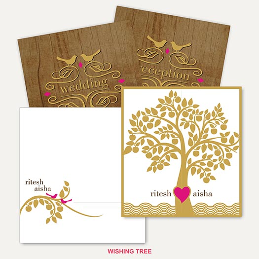 Digital Printed Wedding Cards