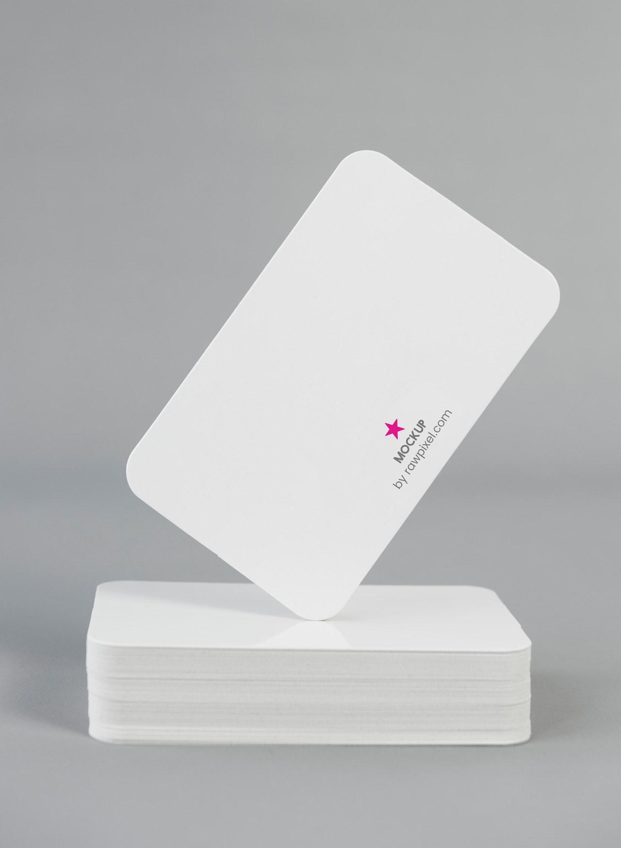 Round- Corner Business Card