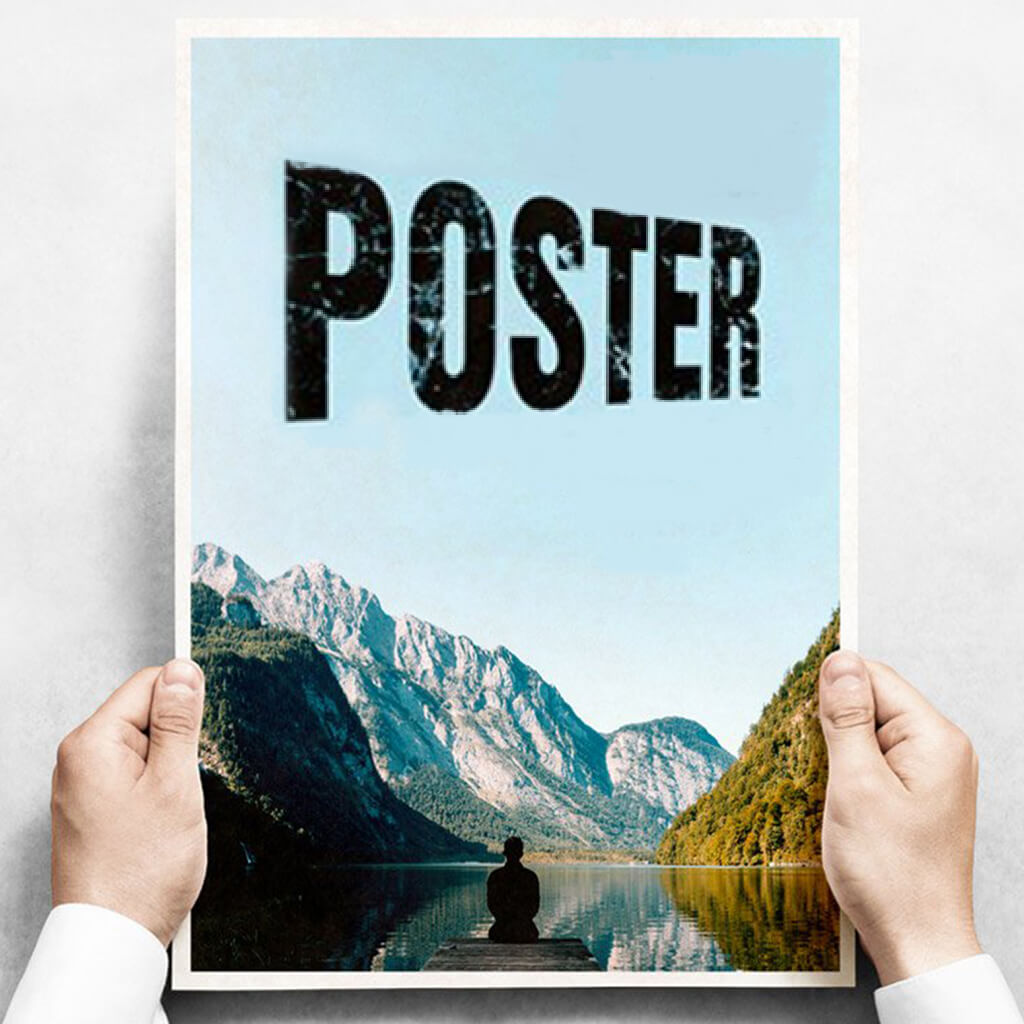 Glossy Paper Poster